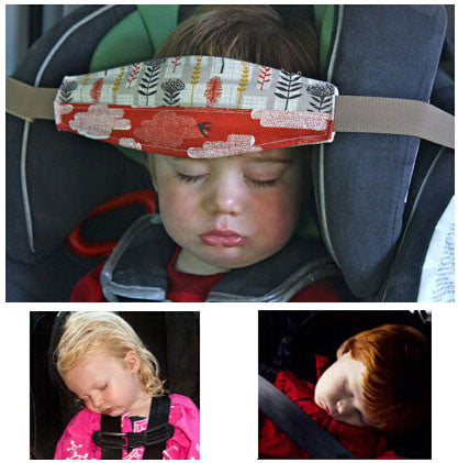"1.5m/59"" Baby Car Seat Headrest Sleeping Head Support Pad cover  For Kids travel interior accessories"