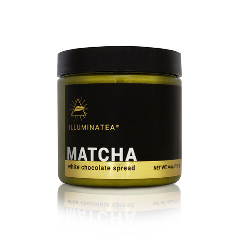 Matcha White Chocolate Spread (4 oz)