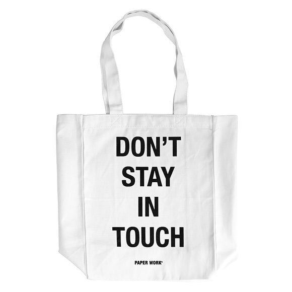 DSIT TOTE BAG WHITE