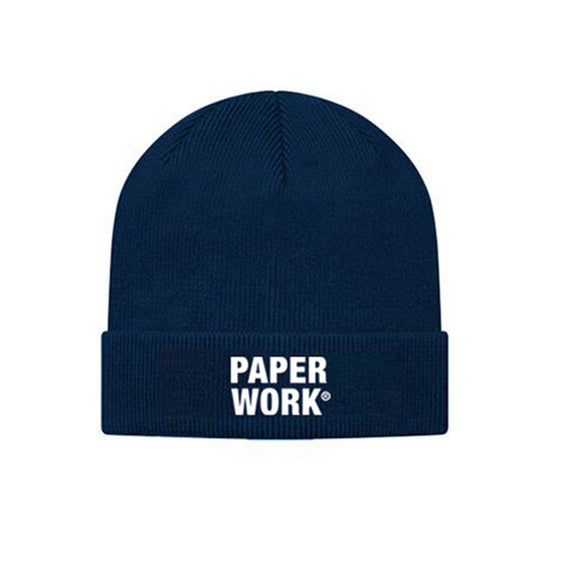 PW KNIT CAP NAVY