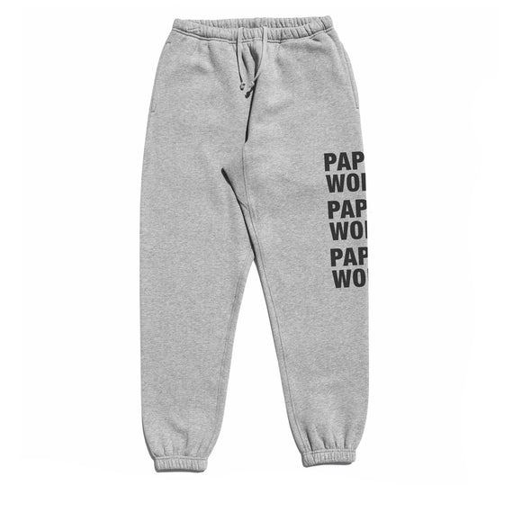 STACKED SWEATPANTS GREY