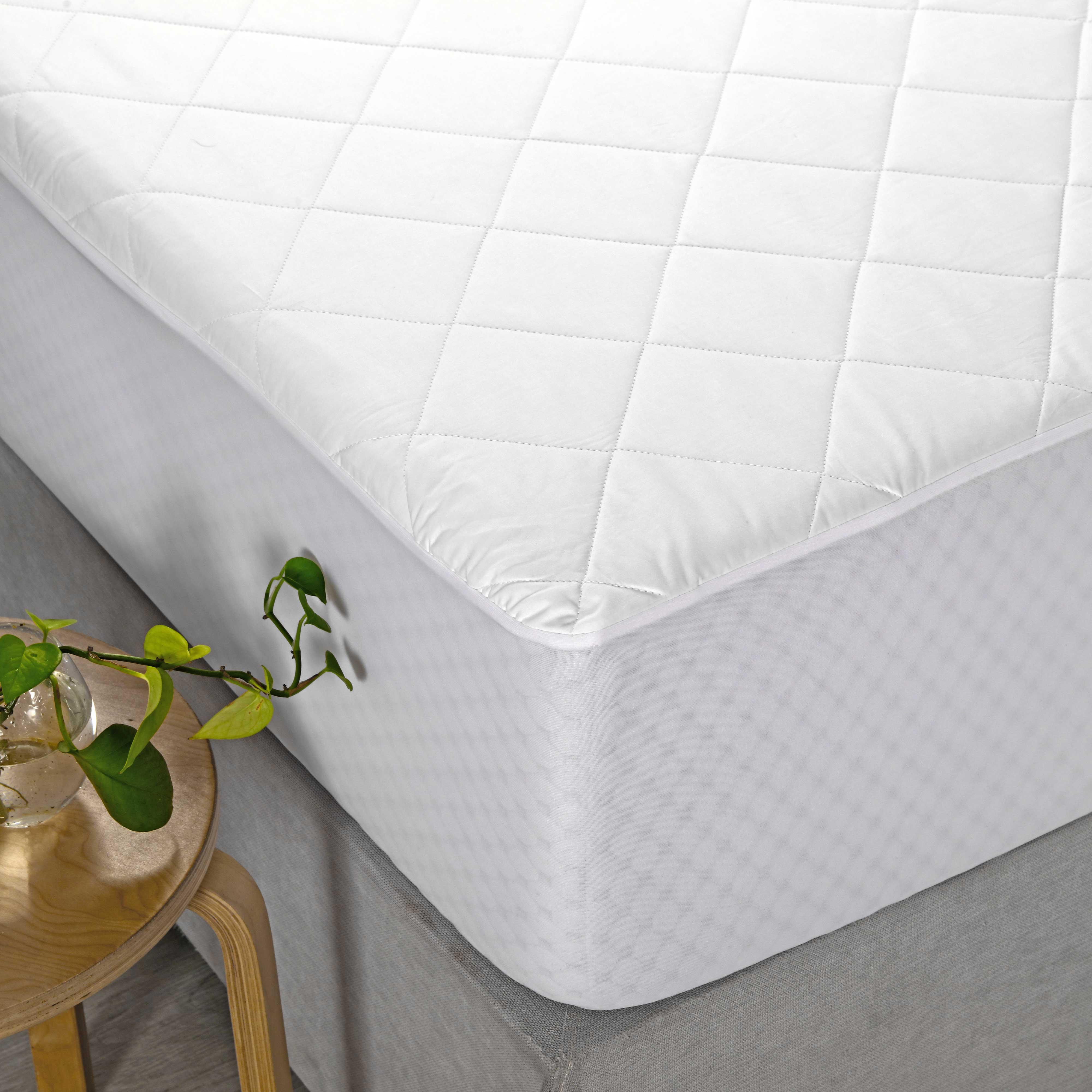 Cotton Quilted Mattress Protector Home On Darley