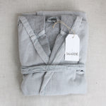 Load image into Gallery viewer, Vintage Wash Cotton Robe Pale Grey