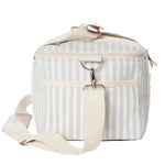 Load image into Gallery viewer, Lauren's Sage Stripe Premium Cooler Bag