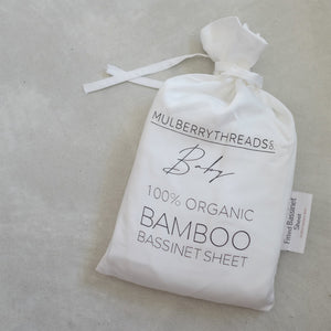 Organic Bamboo Bassinet Fitted Sheet