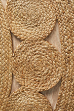 Load image into Gallery viewer, Jute Daisy Round Rug - Pre Order