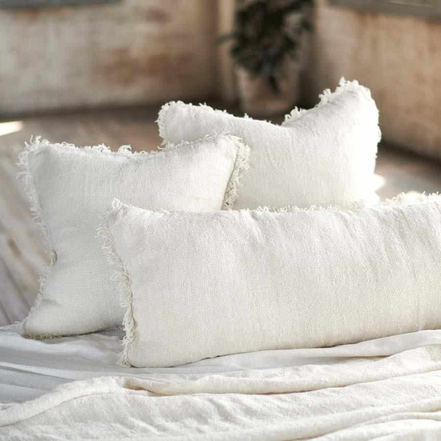 Bedouin Cushion Ivory