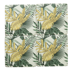 Palm Coasters Set of 4
