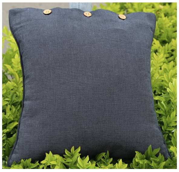 Solid Colour 40 x 40cm  Cushion Cover