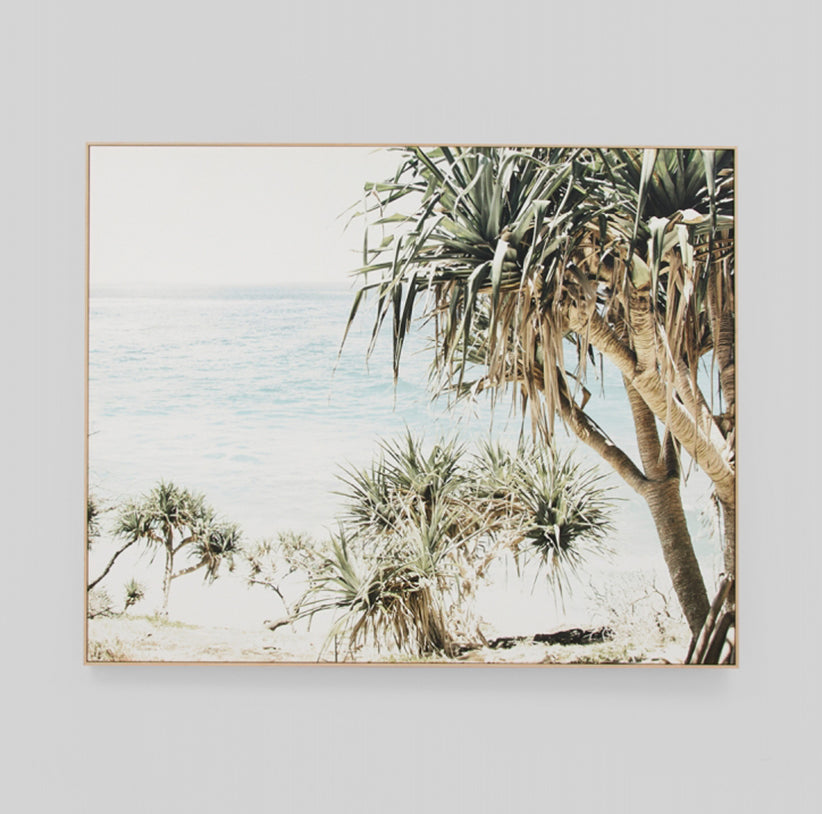 Coastal Palms Canvas - Pre Order