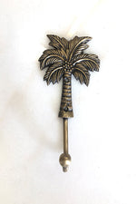 Load image into Gallery viewer, Brass Coconut Tree Hooks