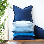 Load image into Gallery viewer, Luca Cushion Indigo
