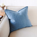 Load image into Gallery viewer, Luca Cushion Blue Azzure