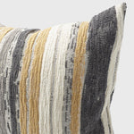 Load image into Gallery viewer, Dessiner Cushion Spun Gold & White Grey