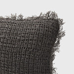Load image into Gallery viewer, Rustica Cushion - Coal 50 x 50cm