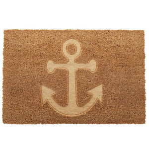 Etched Anchor Doormat 40 x 60cm