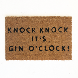 Gin Quote Doormat 40 x 60cm