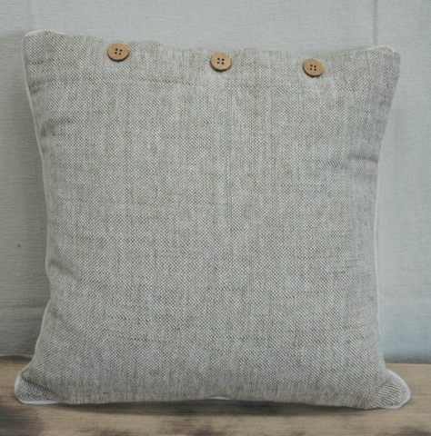HEATHER Black/Blue/Beige Cushion Covers