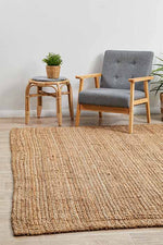Load image into Gallery viewer, Natural Jute Rug - Pre Order
