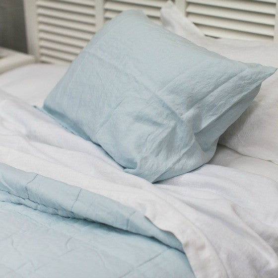 Stone Washed Linen EUROPEAN PILLOWCASE