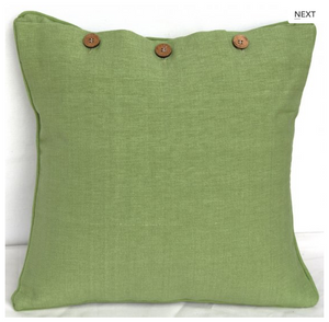 Solid Colour Euro Cushion Cover 60X60cm