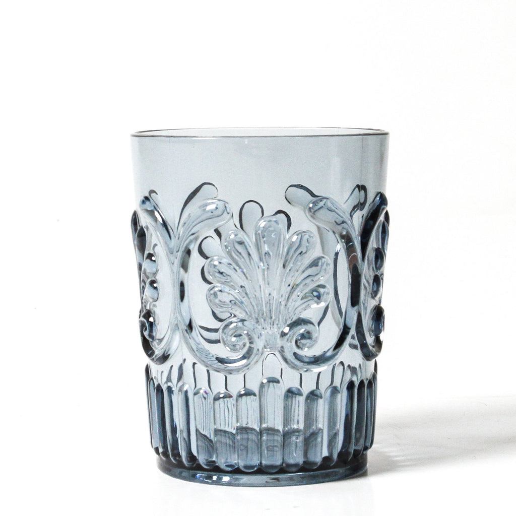Flemington Acrylic Tumbler - Clear, Amber, Green & Blue