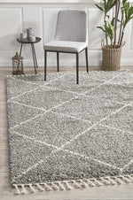 Load image into Gallery viewer, Saffron Grey Rug - Pre Order