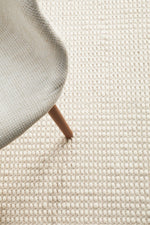 Load image into Gallery viewer, Skandi White Wool Rug - Pre Order