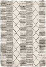 Load image into Gallery viewer, Skandi Grey (316) Wool Rug - Pre Order