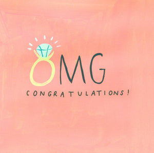 'OMG Congratulations' Gift Card