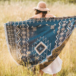 Load image into Gallery viewer, Let It Be - Woven Picnic Rug/Throw 130 x 160