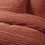 Load image into Gallery viewer, Betty Cotton Quilt Cover Set Tobacco