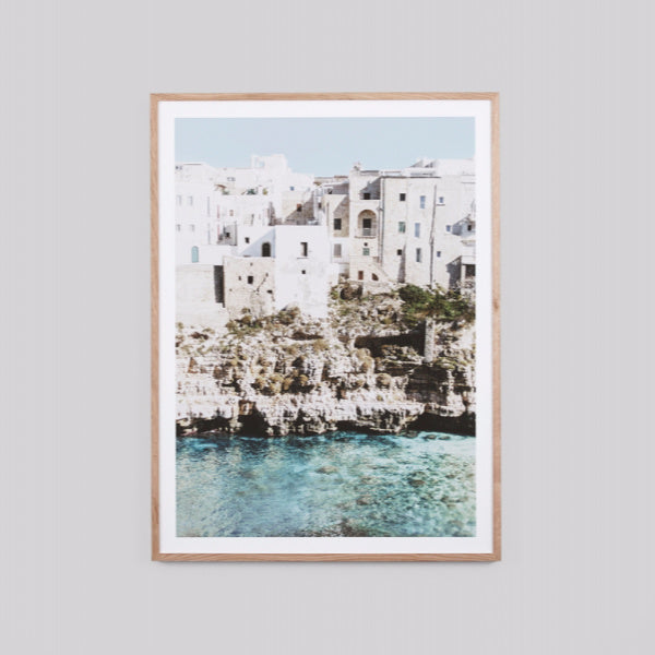 Amalfi Village 85 x 114cm - In Store Purchase Only