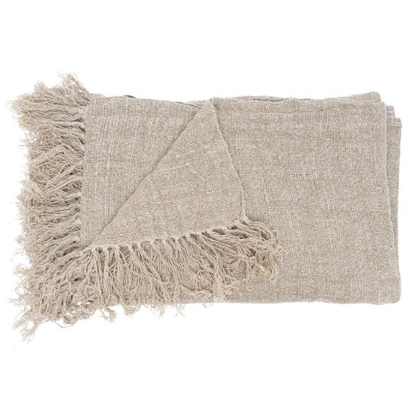 Bedouin Oversized Linen Throw 200 x 140cm