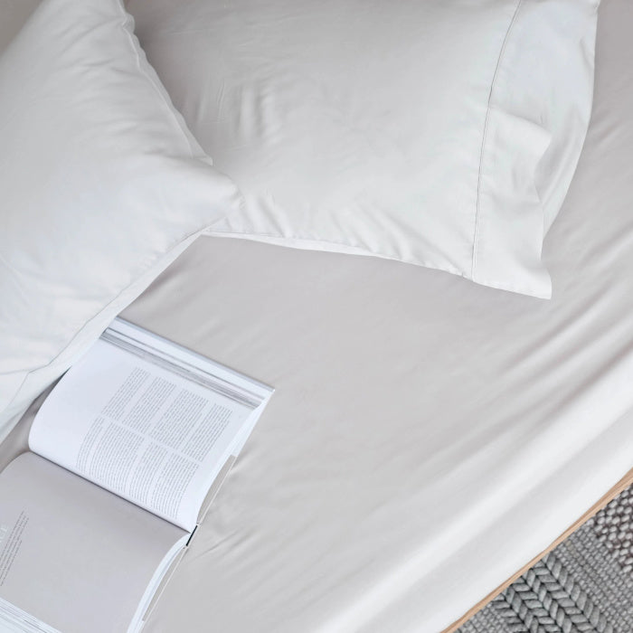 Organic Bamboo Fitted Sheet & Pillowcases