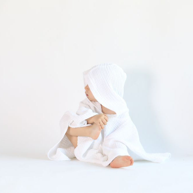Cocoon Poncho White