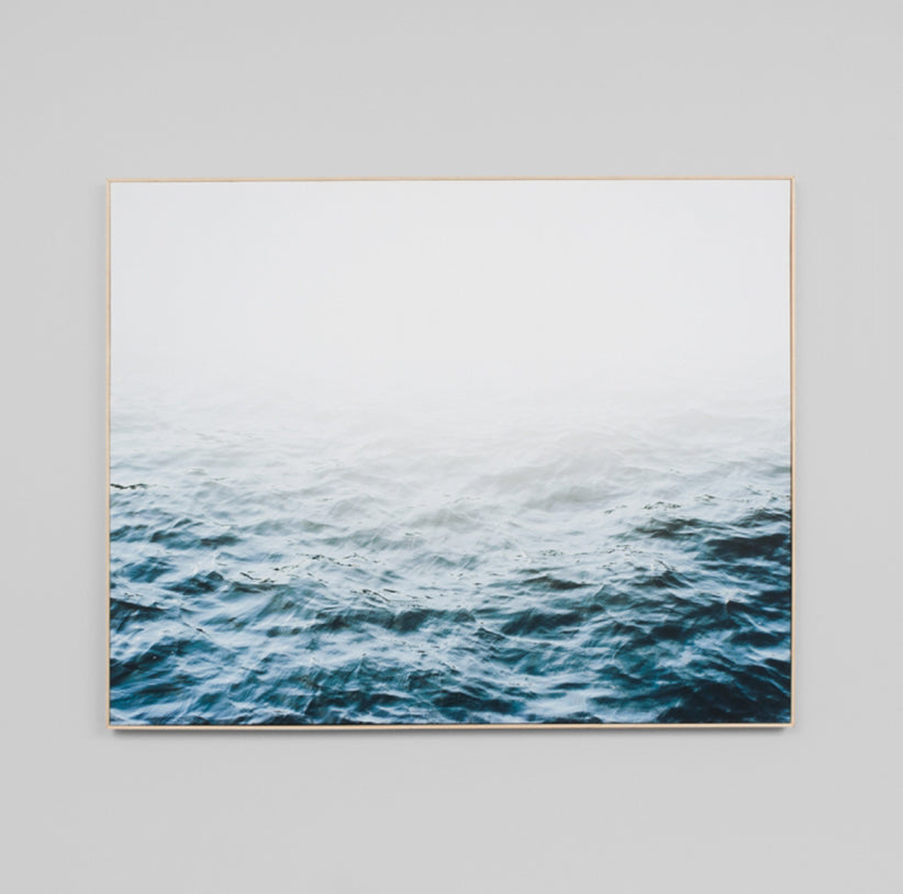 Distant Waters Framed Canvas 120 x 150cm - Pre Order