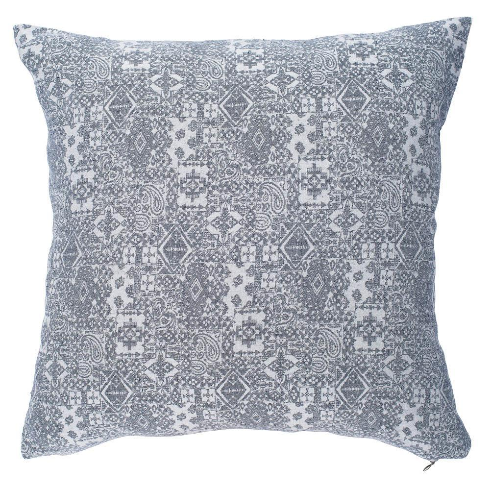 Drift Cushion - Steel Grey 60cm x 60cm