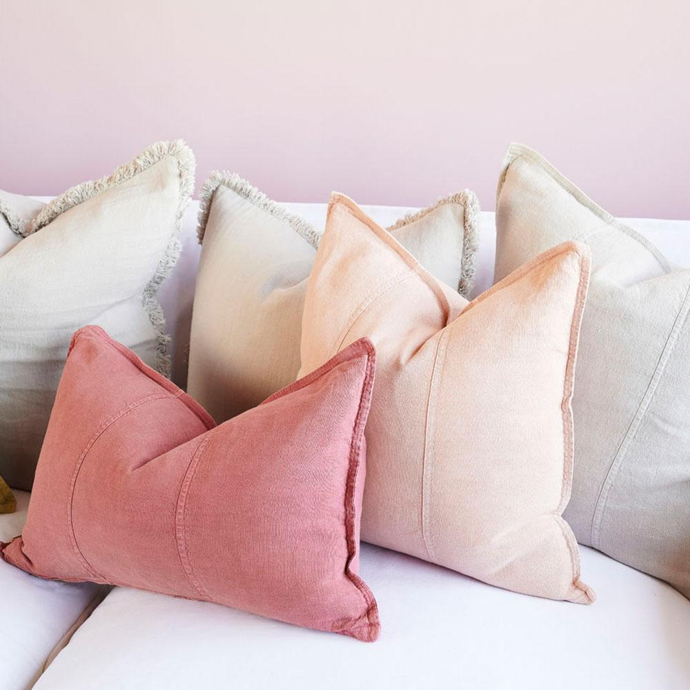 Luca Cushion Soft Pink
