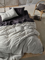Load image into Gallery viewer, Napier Quilt Cover Set Black