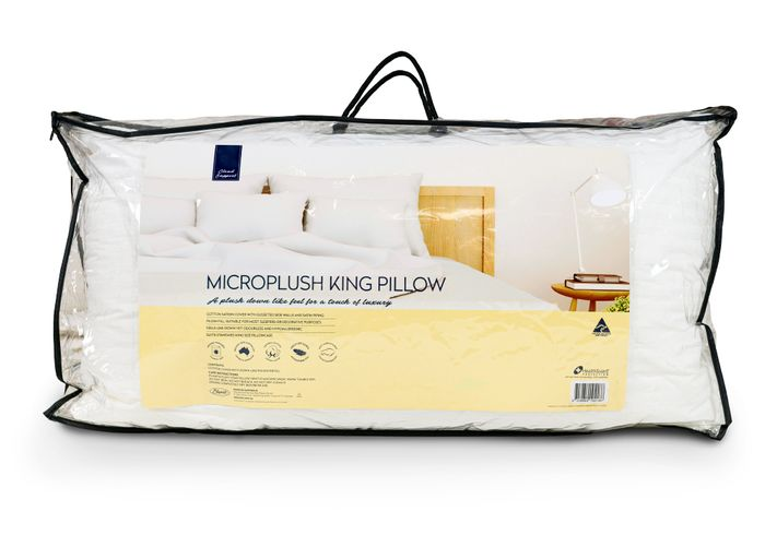 Microplush King Size Pillow 50 x 90cm