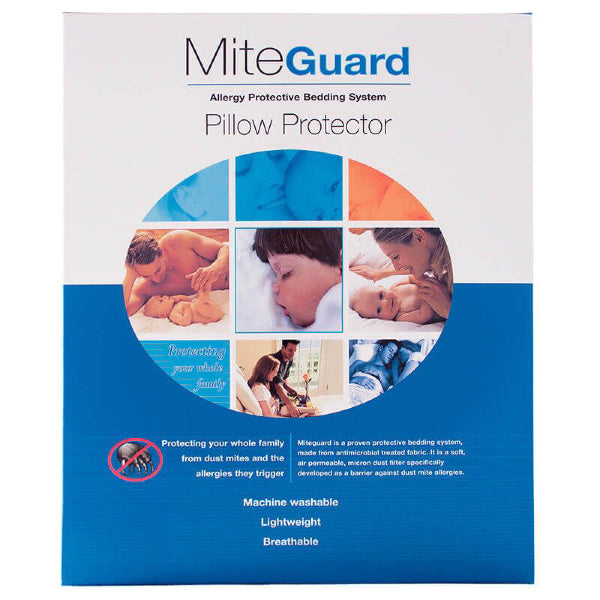 Standard Mite-Guard Pillow Protector