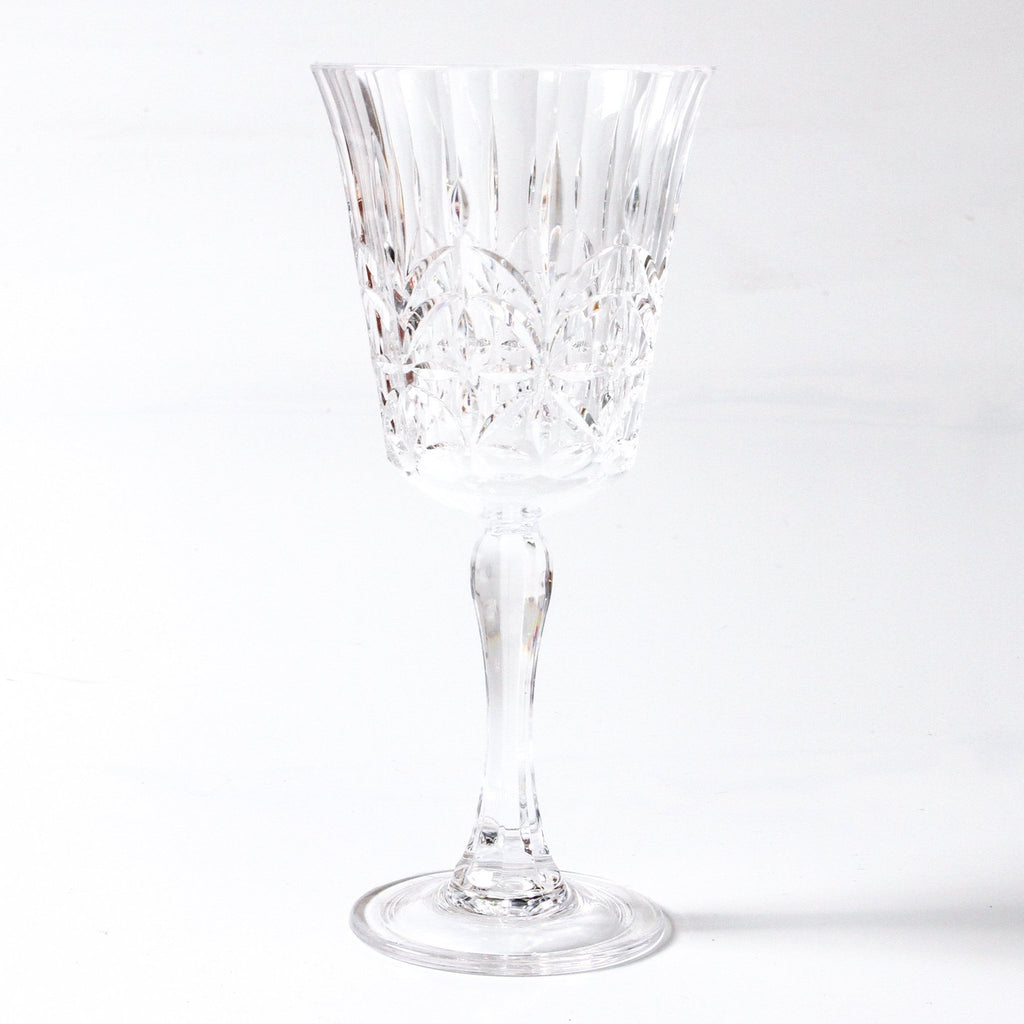 Pavillion Acrylic Wine Glass - Clear or Pink