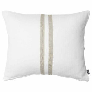 Simpatico Cushion  White/Natural 50 x 60cm