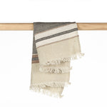 Load image into Gallery viewer, The Belgian Guest Hand Towel 100% Linen, Beeswax Stripe - 55x65
