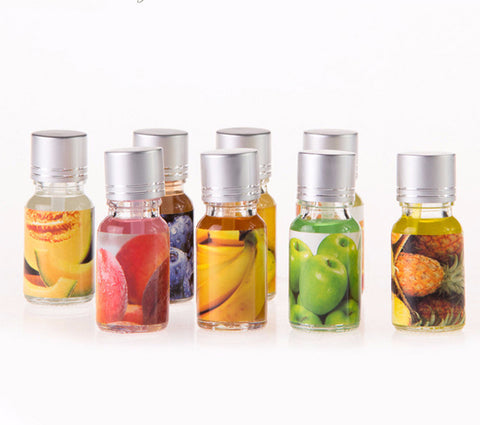 8pcs Fruit Scent Aromatherapy Essential Oil