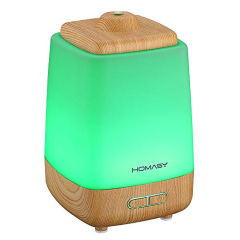 Aroma Essential Oil Diffuser w/ 7 Color LED Lighting
