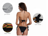 NEW Jaonifer Bikini: Brazilian Black Halter & Bottoms