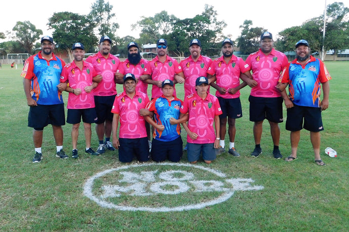 Imparja Cup spreads the NO MORE message