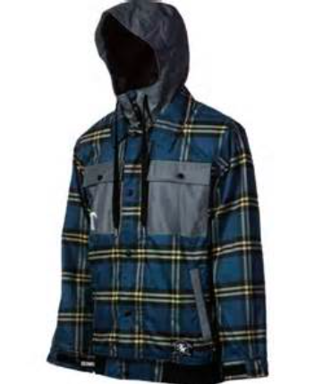 Technine Flannel Snowboard Jacket